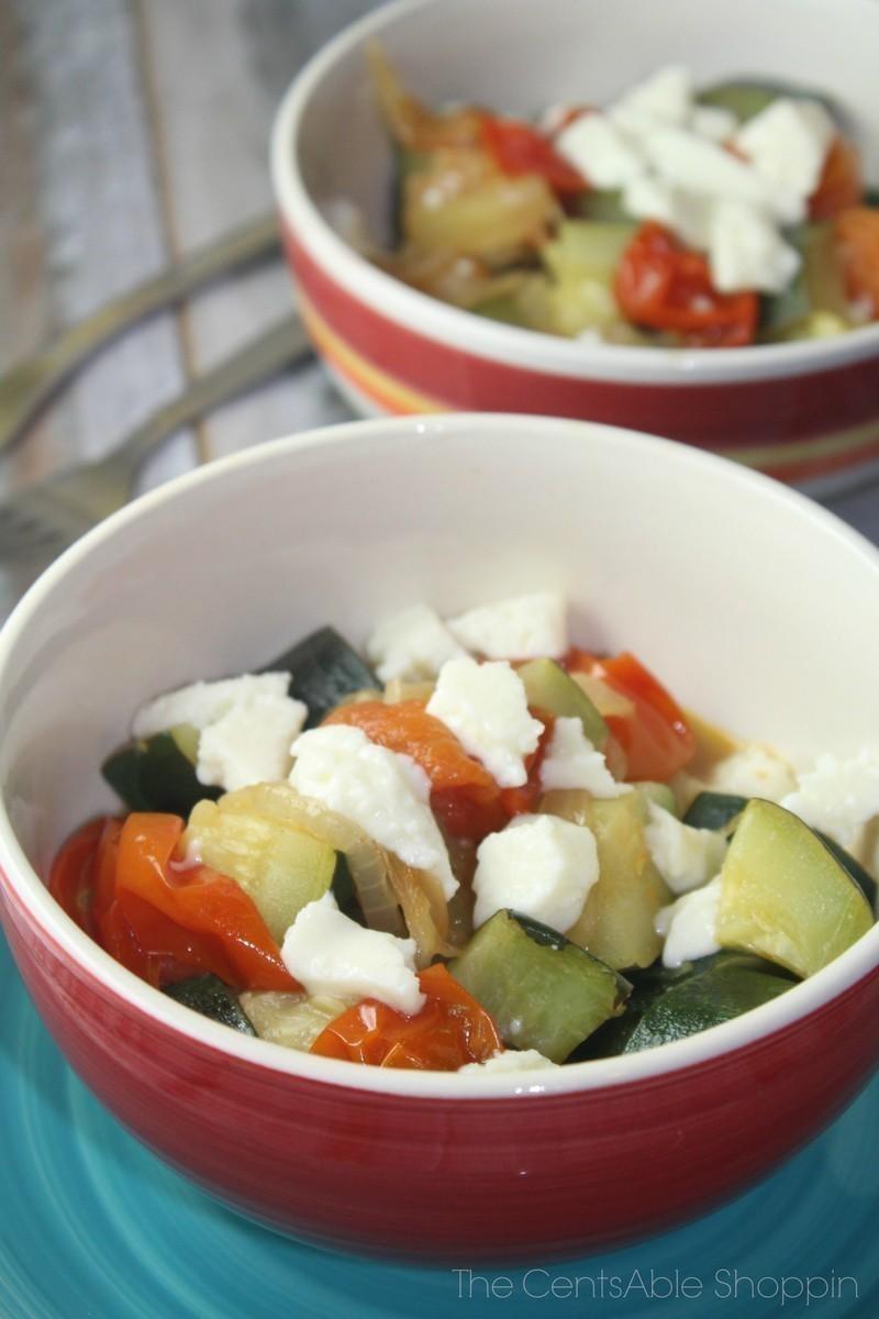 Zucchini & Tomato Melange
