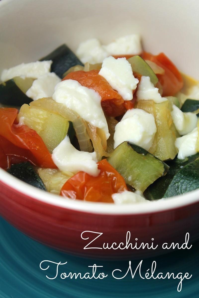 Zucchini and Tomato Mélange {Pressure Cooker}
