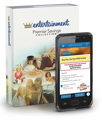 2017 Entertainment Books just $5 + FREE Shipping