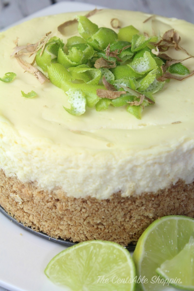 Lime Cheesecake (Instant Pot)