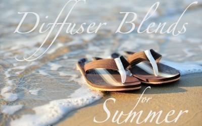 Summer Diffuser Blends for Essential Oils