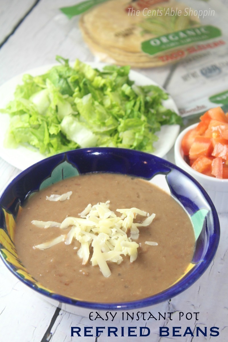 Easy Instant Pot Refried Beans