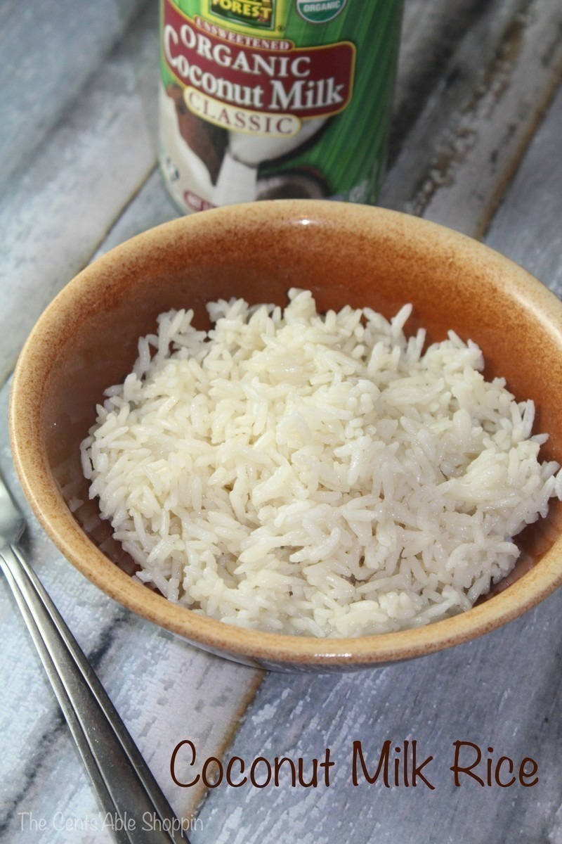 Pressure Cooker Coconut Milk Rice