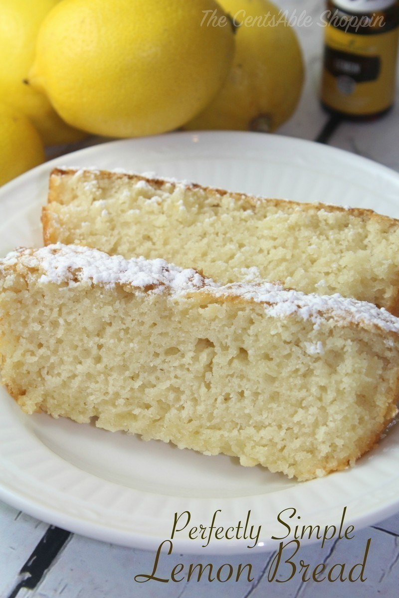Perfectly Simple Lemon Bread