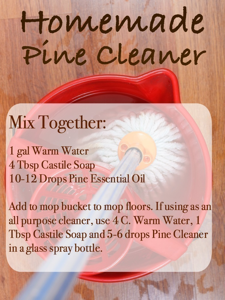 Homemade Pine Cleaner