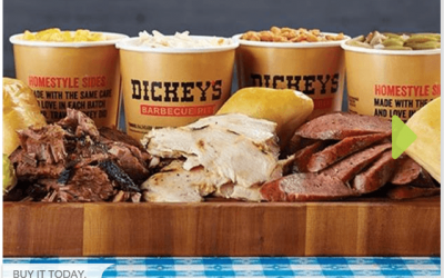 Dickey's Barbecue Pit: $30 Food Voucher just $15