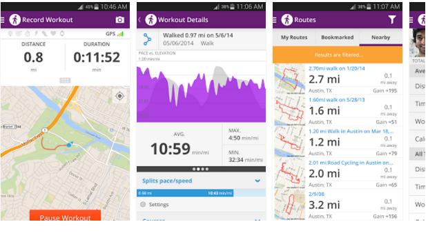 Google Play: Map My WalK + GPS Pedometer App just $.15 – The ... on map of az, how far did i walk, map destiny,