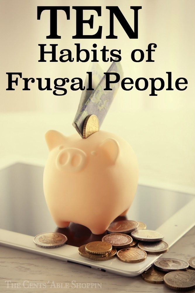 10 Habits of Frugal People