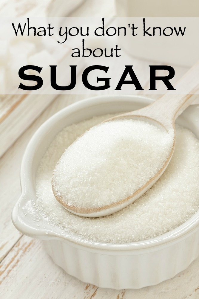 What you Don't Know About Sugar
