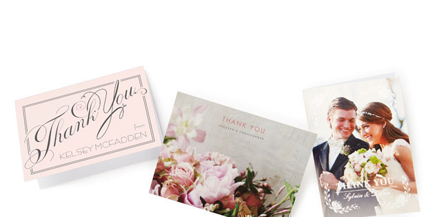 Wedding Paper Divas 10 Free Thank You Cards