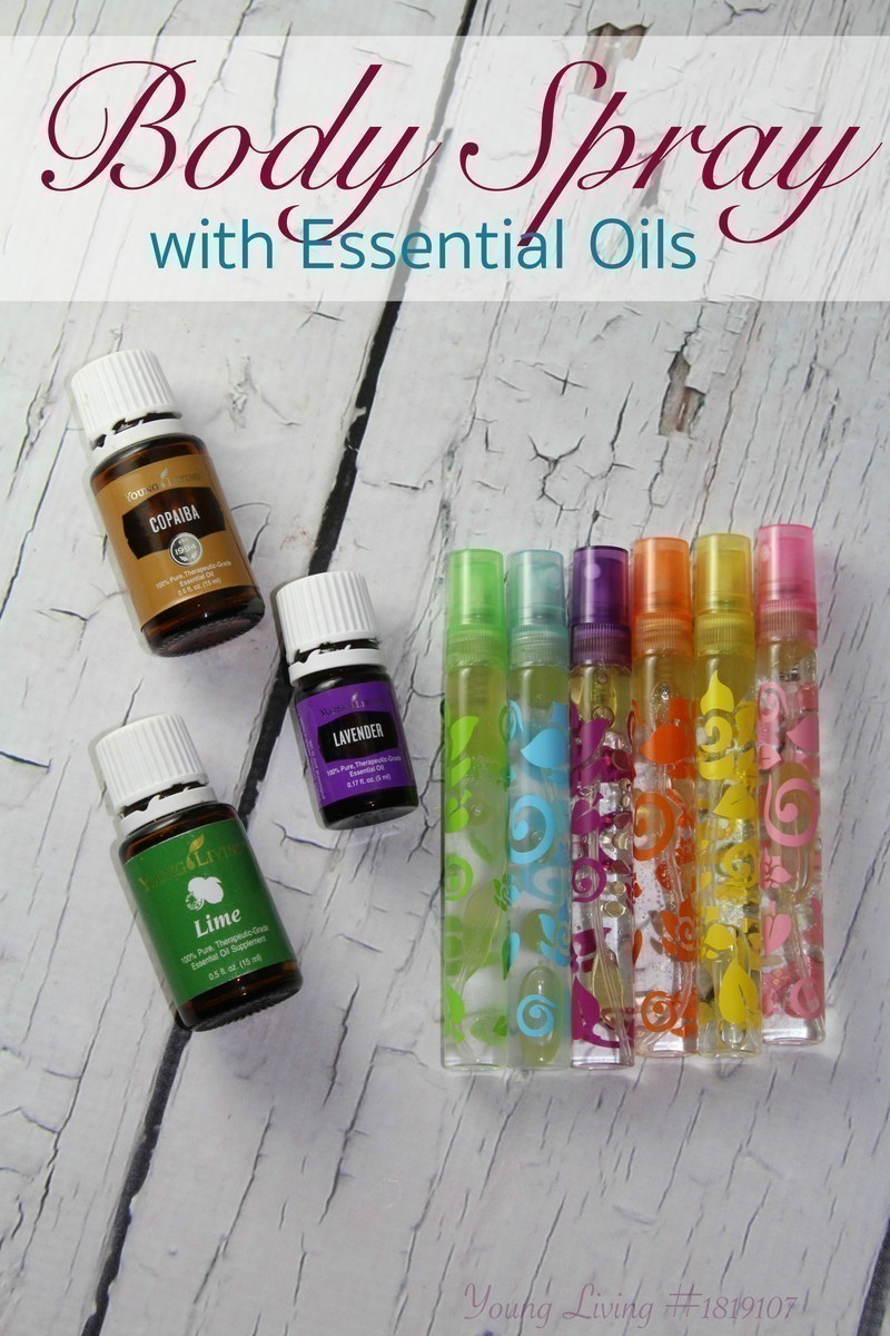 DIY Body Spray with Essential Oils