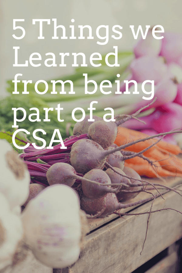 5 Things We Learned from Being Part of a CSA