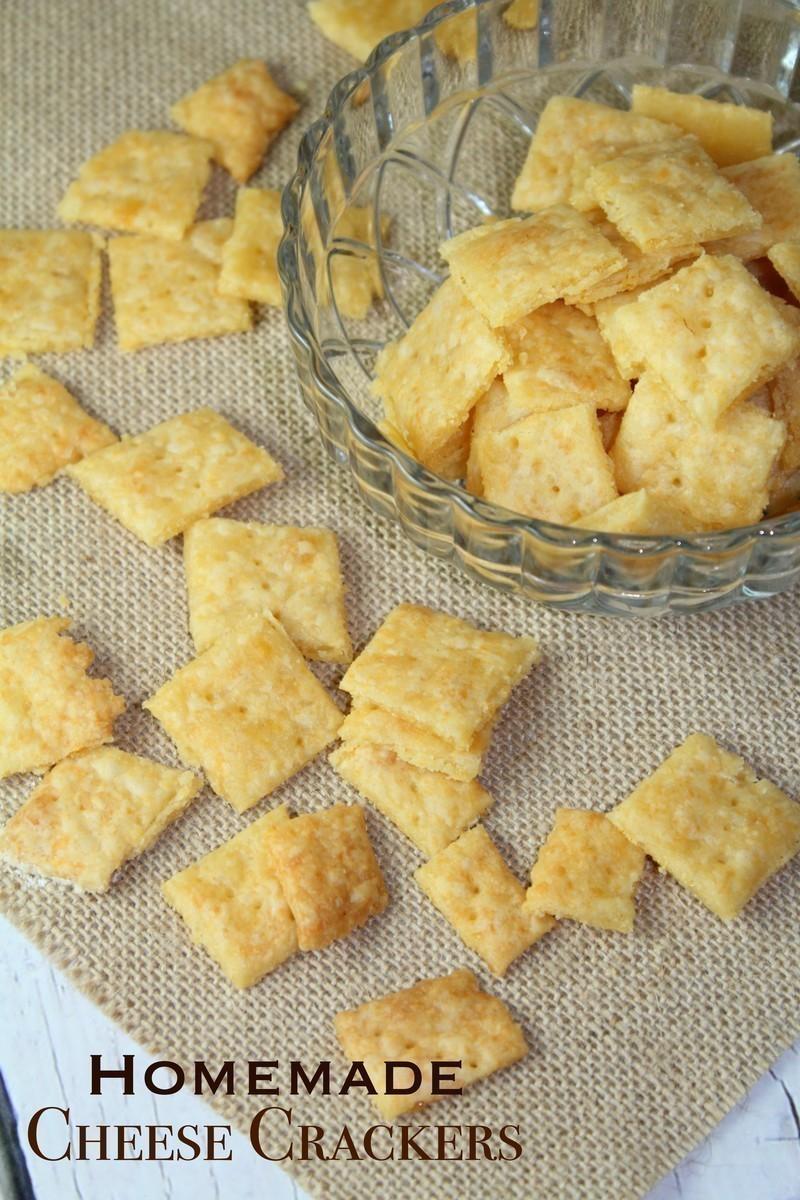 Homemade Cheese Crackers 1