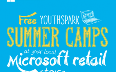 Microsoft Store: FREE Youthspark Summer Camps and Classes for Kids