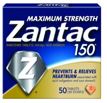 FREE Zantac Acid Reducer 50 or 60 ct (After Rebate)