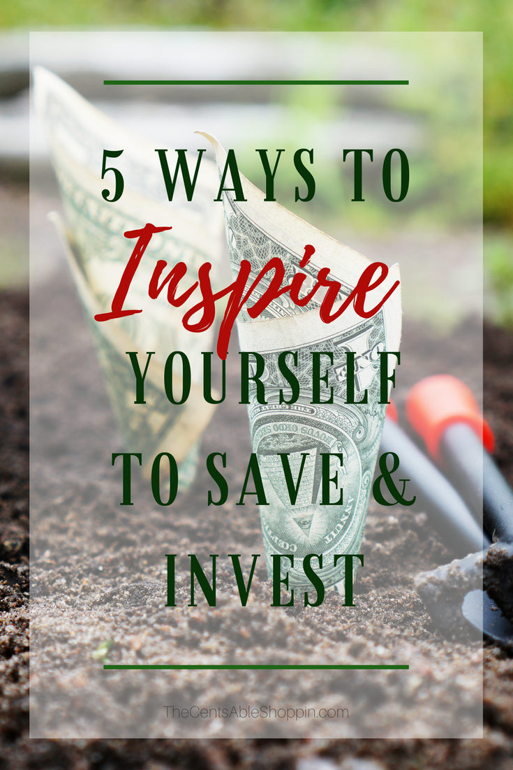You've heard it a million times: you need to save money. Problem is, it's so daunting! Here are five proven ways to inspire yourself to save and invest.