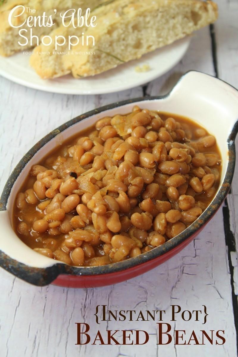 Easy Instant Pot Baked Beans
