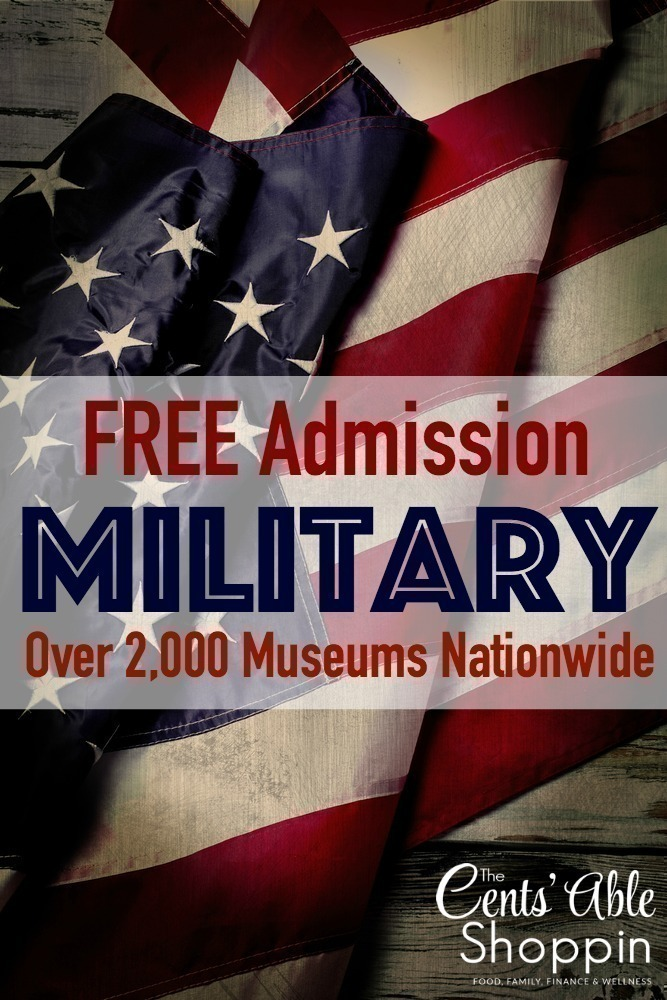 FREE Military Admission to over 2,000 Museums Nationwide