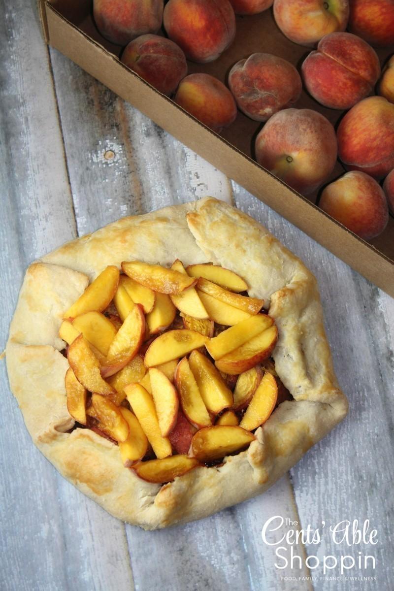 Peach Tart with Homemade Crust