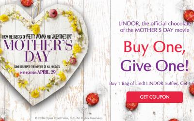 NEW B1G1 FREE Lindt Lindor Truffles + Target Deal