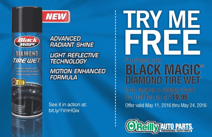 FREE Black Magic Diamond Tire Wet {After Rebate}