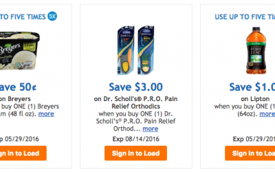 Fry's: New 5X Use Manufacturer Digital Coupons