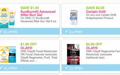 NEW Coupons for Olay, Certain Dri + More