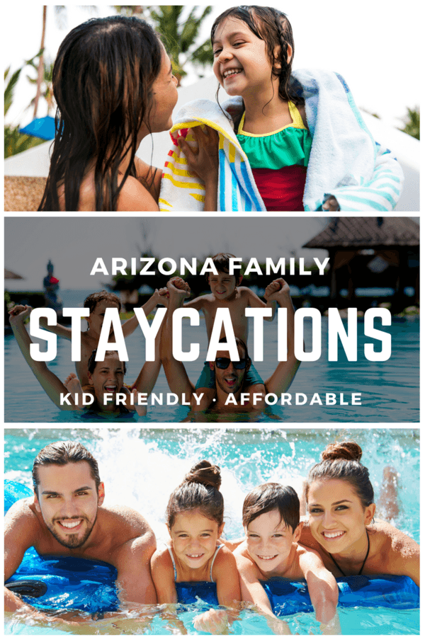Looking to stay cool this summer? Arizona has several family friendly staycations that are perfect for any family looking to escape the heat!