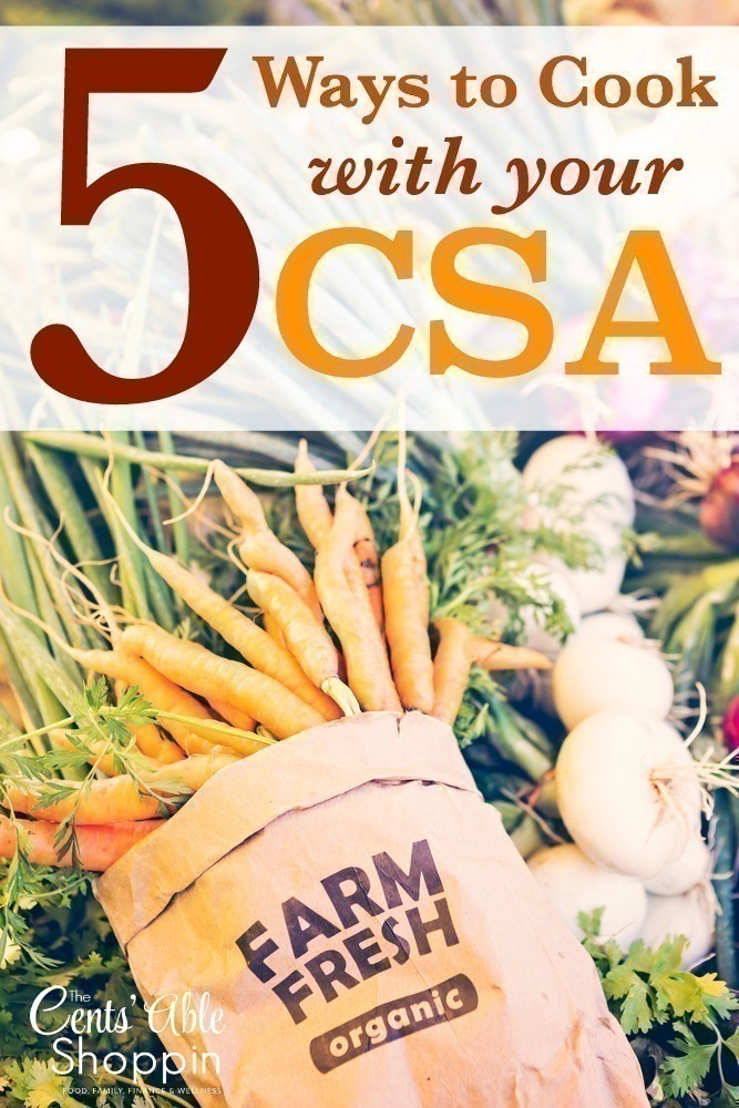 5 Ways to Cook with your CSA
