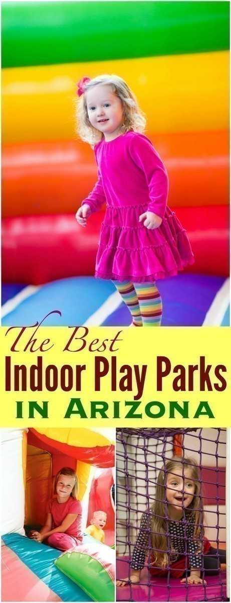 Thankfully there are MANY places here in Arizona that can help you keep the kids cool, it can sometimes give the parents time to relax too. Here are some of the best Indoor Play Parks in Arizona!