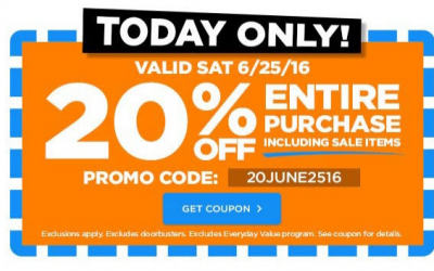 Michael's: 20% OFF your Entire Purchase Including Sale Items