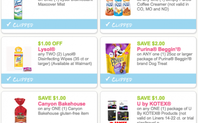 NEW Coupons for Lysol, International Delight + more