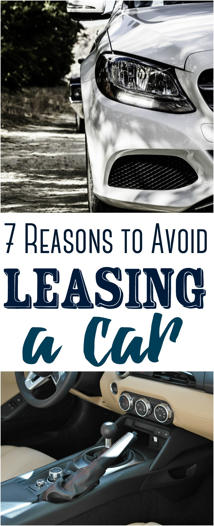 Leasing a car might seem like a wonderful way to get into a new car for a low, up-front cost. In reality, it's a poor money move. Here are several reasons to avoid leasing a car. #money #finance #lease #carlease #savingmoney #budget