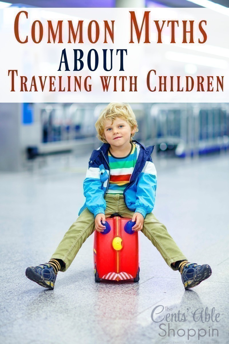 Myths About Traveling with Children