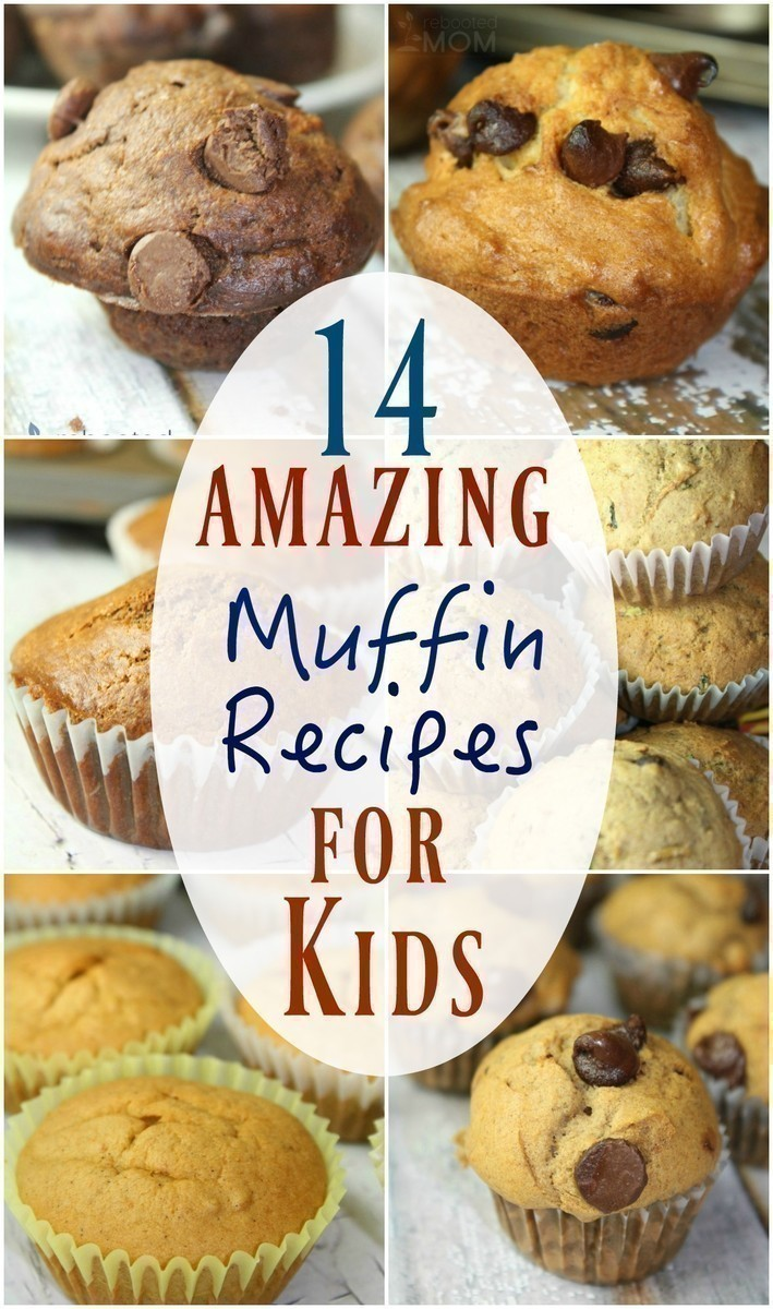 Muffin Recipes your Kids will LOVE