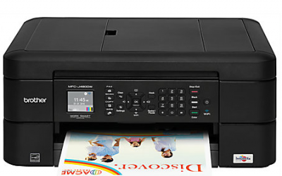 OfficeMax: Brother Wireless Color Inkjet All-In-One $49.99