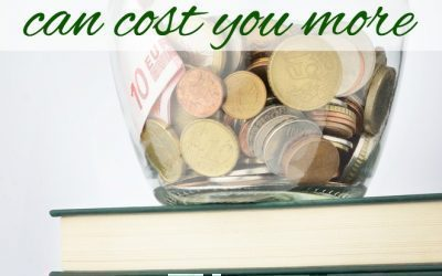 When Frugality Can Cost you More