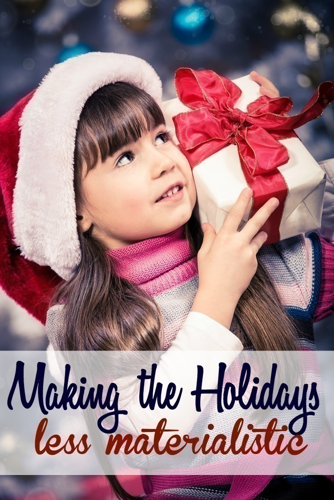 How to Make the Holidays Less Materialistic