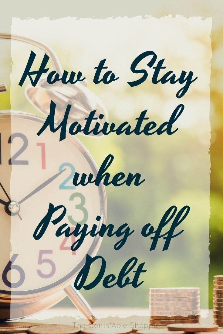 Paying off debt is no easy feat - sometimes it can truly be a struggle to stay motivated, and you may feel yourself slip into your old habits. Find out a few easy ways to stay motivated when the struggle gets real. #Debt | #Finances | #Budget