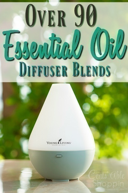 Over 90 Essential Oil Diffuser Blends