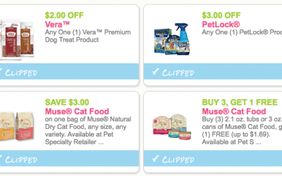 Current Pet Coupons on Purina, Muse + More