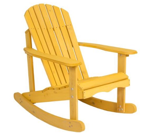 Walmart $90 OFF the Outdoor Adirondack Rocking Chair