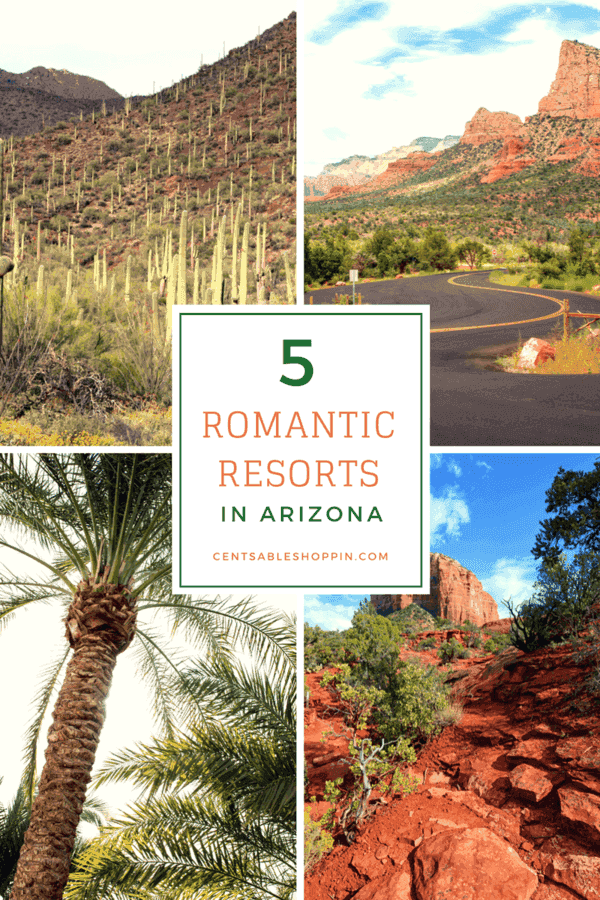 5 Romantic Resorts in Arizona