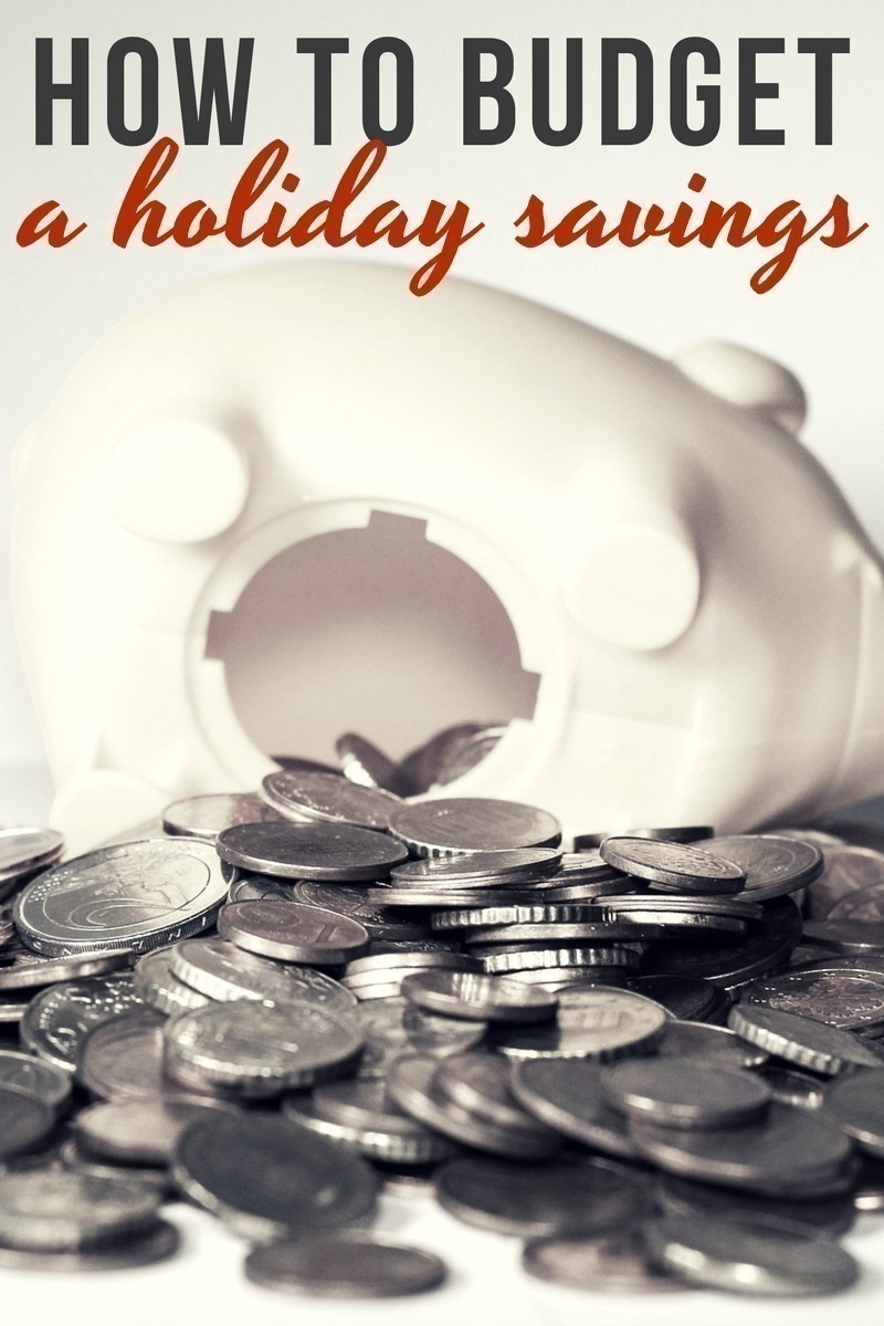 How to Budget a Holiday Savings