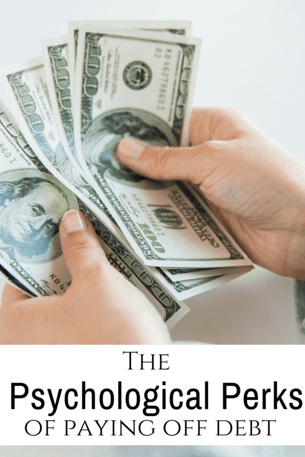 Debt lurks in every corner of our lives - and takes a toll on everything from health to family.  Making a vow to pay it off can be one of the best things you will ever do. Here are The Psychological Perks of Paying off Debt.