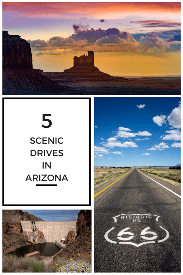 5 Scenic Drives in Arizona