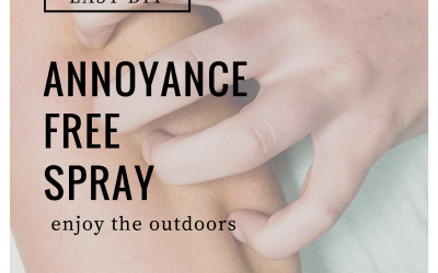 Easy DIY Annoyance Free Spray for the Outdoors