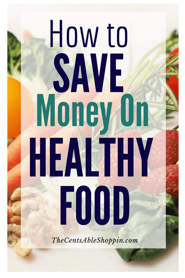 Healthy eating can be incredibly affordable, if you look in the right places. It might be expensive to eat, but it is more cost effective to choose your food wisely. Here are some ways to help you save on healthy food (without clipping coupons!) #savingmoney #budget #finance #healthy #organic