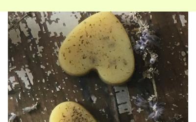 Lavender Bath Melts with Essential Oils