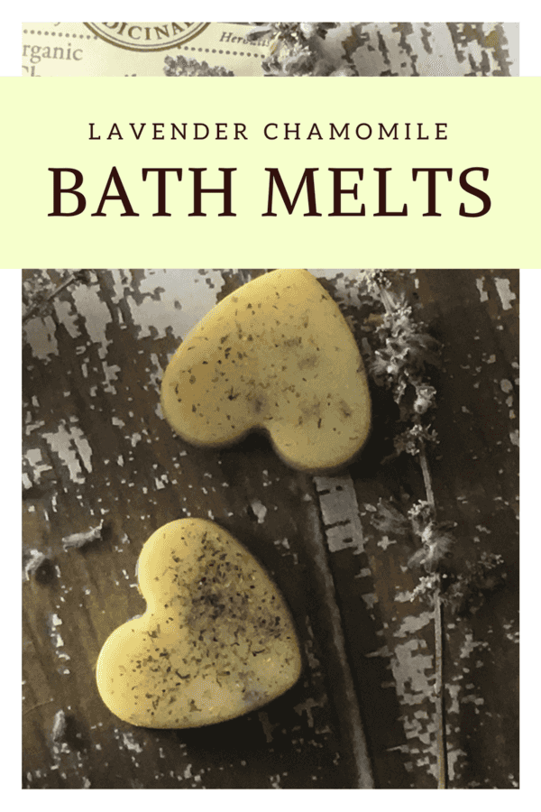 Lavender Bath Melts with Essential Oils